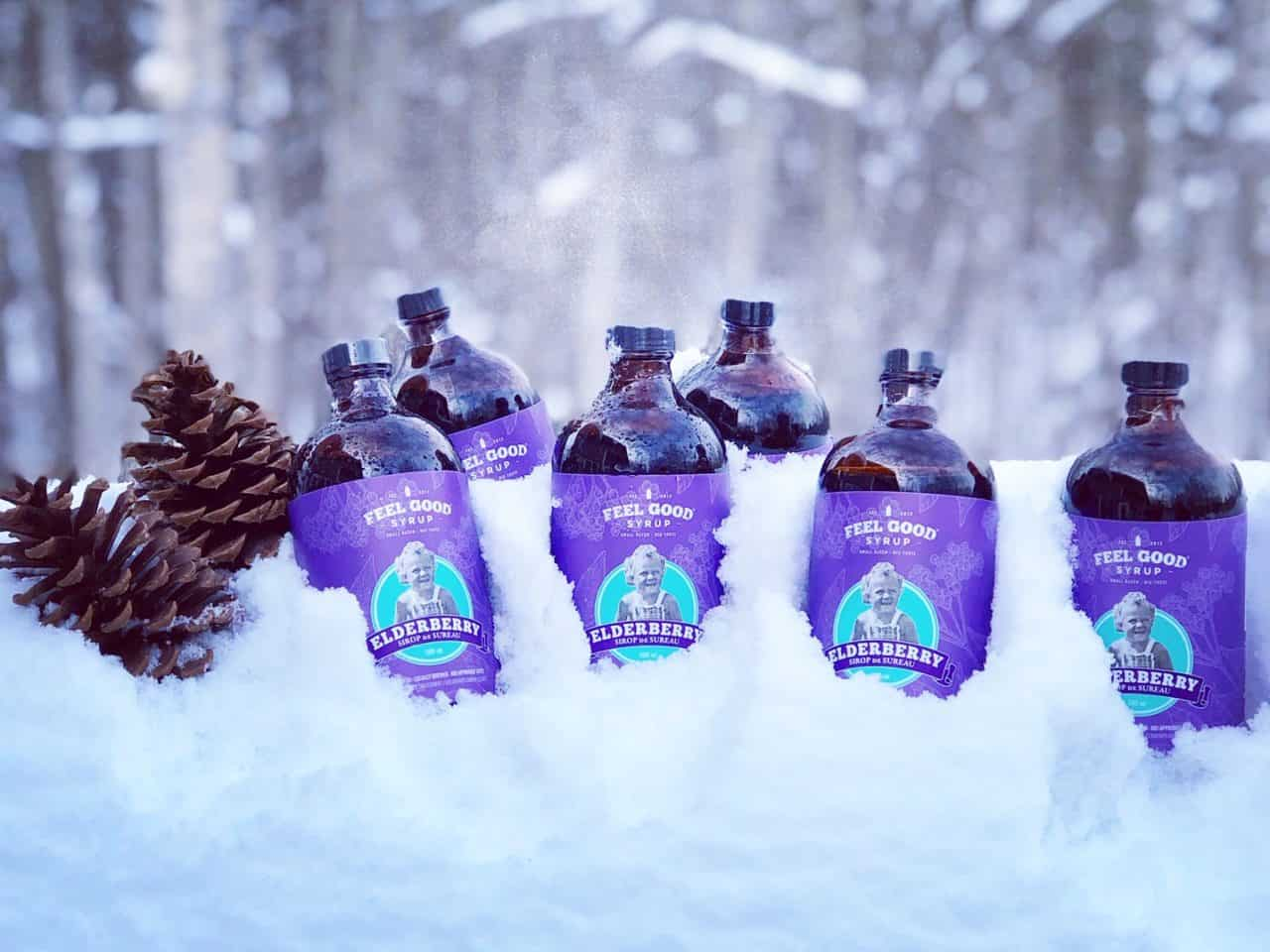 6 Pack Elderberry Syrup